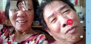 Befriending seniors trying out Whatsapp Video Calls