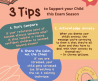 3 Tips to Support your Child this Exam Season