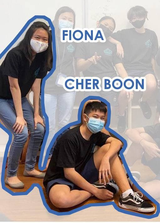 Fiona and Cher Boon, A glimpse into youth work